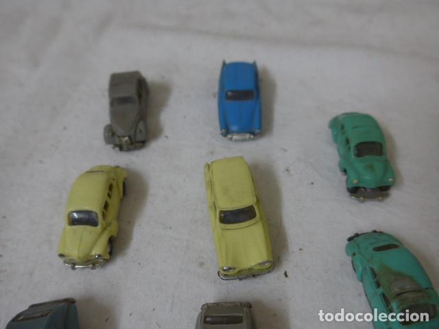 Coches a escala: Lote de 8 antiguo coche pequeño marca Norev originales, coches tipo mini cars. - Foto 3 - 138696410