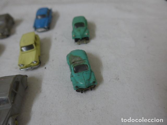 Coches a escala: Lote de 8 antiguo coche pequeño marca Norev originales, coches tipo mini cars. - Foto 4 - 138696410