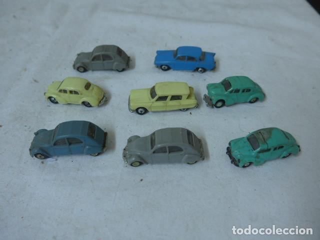 Coches a escala: Lote de 8 antiguo coche pequeño marca Norev originales, coches tipo mini cars. - Foto 5 - 138696410