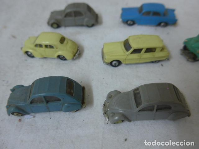 Coches a escala: Lote de 8 antiguo coche pequeño marca Norev originales, coches tipo mini cars. - Foto 8 - 138696410