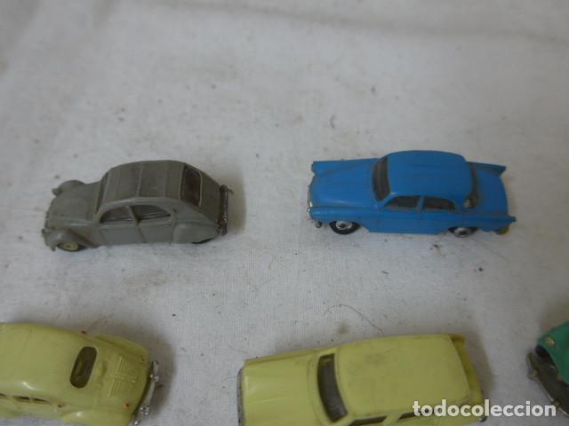 Coches a escala: Lote de 8 antiguo coche pequeño marca Norev originales, coches tipo mini cars. - Foto 9 - 138696410