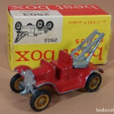 Coches a escala: ANTIGUO BEST BOX 2503 EFSI FORD MODELO T 1919 CRANE TRUCK MADE IN HOLLAND 1960S ORIGINAL. Lote 138717954
