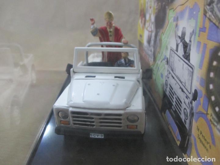 Coches a escala: ANTIGUO COCHE DE METAL. FIAT CAMPAGNOLA. OLD CARS. ITALY. 1/43. PAPAMÓVIL CON MINIATURAS. 9 CM - Foto 5 - 138744058
