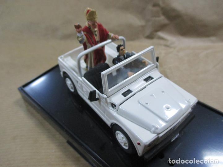 Coches a escala: ANTIGUO COCHE DE METAL. FIAT CAMPAGNOLA. OLD CARS. ITALY. 1/43. PAPAMÓVIL CON MINIATURAS. 9 CM - Foto 11 - 138744058