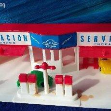 Coches a escala: ESTACION DE SERVICIO E.C.A. ECA, AÑOS 60-70. SIN JUGAR. Lote 138997446