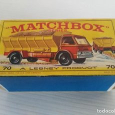 Coches a escala: ANTIGUO COCHE DE MATCHBOX Nº 70 CRIT SPREADING TRUCK . Lote 139056190