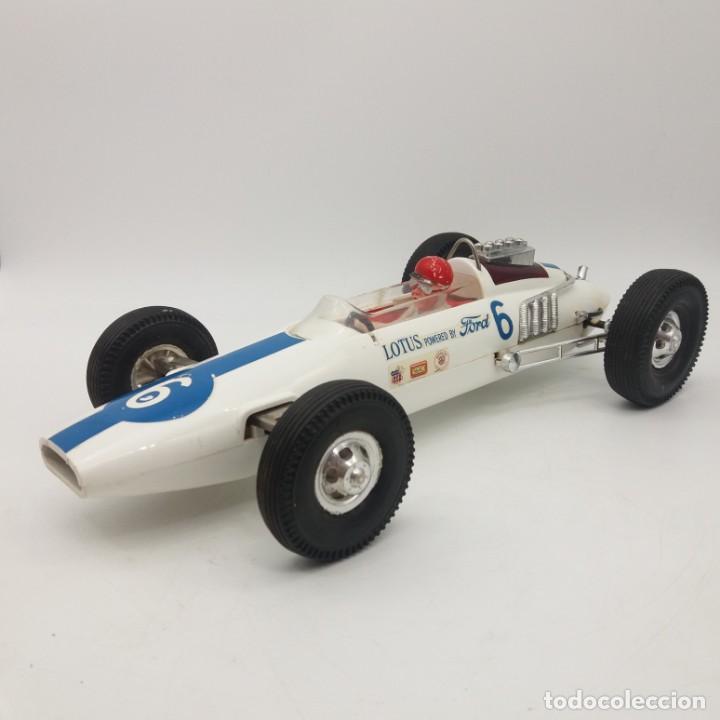 Bolido Lotus Ford 500 Millas De Indianapolis De Gama Juguete Antiguo A Friccion
