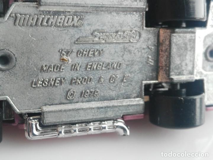 Coches a escala: ANTIGUO COCHE DE MATCHBOX Nº 57 CHEVI - Foto 6 - 139290722