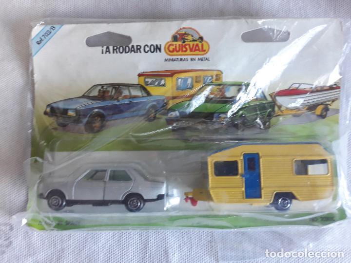 GUISVAL- BRISTER SEAT 131+CARAVANA-AÑOS 80 (Spielzeug - Modellautos in anderen Maßstäben)