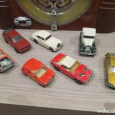 Coches a escala: LOTE COCHES VINTAGE MATCHBOX AÑOS 70 MINI AUDI FORD DODGE ROLLS ROYCE. Lote 140458798