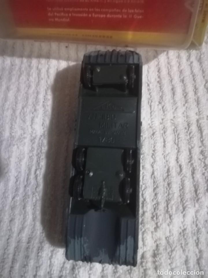 Coches a escala: Eko vehículo ANFIBIO militar Duckw U. S. A. 1/86 esc. HO Made in Spain - Foto 2 - 141574094