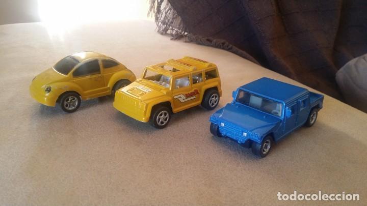 Lote 3 De Coches De Pasta Y Metal Volkswagen Kaufen Modellautos