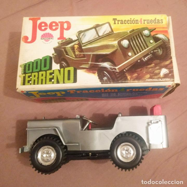 JeepPolicia 112Caja De ArmadaTraccion 4 RuedasRef Bell Nacoral Vell I Cms Origen21 X0ZkwON8nP