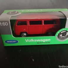 Coches a escala: VW T2 DE WELLY 1/60 NEW. Lote 142782902