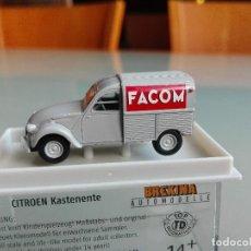 Coches a escala: CITROEN 2CV FURGONETA FACOM , BREKINA 14154. Lote 142963626