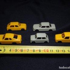 Coches a escala: 5 COCHES JUGUETE PLASTICO.MARCA JOUEF.HO. BMW.MINI, OPEL, VOLSWAGEN. Lote 143256070