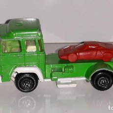Coches a escala: GUISVAL : ANTIGUO CAMION PORTACOCHES MAGIRUS DEUTZ MADE IN SPAIN AÑOS 70 / 80. Lote 143390694