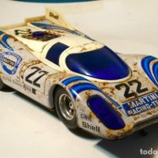 Coches a escala: PORSCHE 917 TAIYO MADE IN JAPAN VINTAGE CAR TOY ANTIGUO COCHE JUGUETE. Lote 143707066
