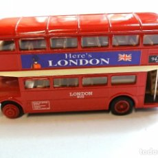 "Coches a escala: AUTOBUS, DOUBLE DECKER TOUR BUS ""HERE'S LONDON"", DIECAST, 1:49, WELLY, NO A SIDO RODADO *. Lote 143741946"