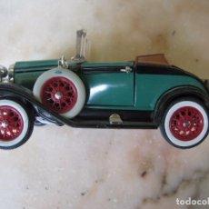Coches a escala: PRECIOSA REPRODUCCIÓN DE COCHE ANTIGUO MODELO FORD ROADSTER 1929 12 CM.. Lote 143942038