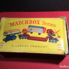 Coches a escala: ATENCION MATCHBOX SERIES LESNEY PRODUCT GIFT G-9 SET JOYA COLECCIONISTAS . Lote 145392906