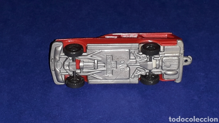 Coches a escala: Mercedes 200 bomberos, esc. 1/87 H0, BVC made in Spain, Wiking copy, original años 70. - Foto 5 - 145662028