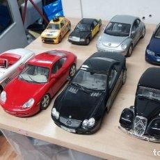 Coches a escala: LOTE 8 COCHES BURAGO MERCEDES-BENZ, PORCHE, CITROEN, VW.. Lote 145848518
