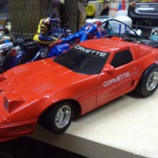 Coches a escala: CHEVROLET CORVETTE TELEDIRIGIDO.NEW BRIGHT 1990.ESC.1/15 APROX.. Lote 146492982