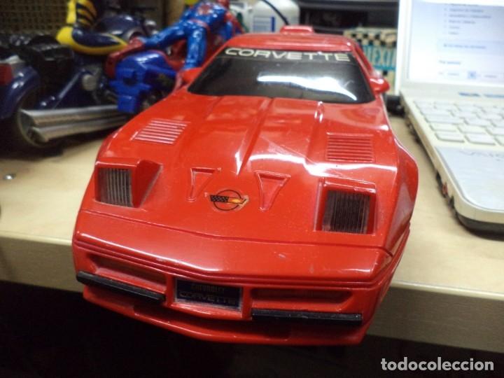 Coches a escala: Chevrolet Corvette teledirigido.New Bright 1990.Esc.1/15 aprox. - Foto 2 - 146492982