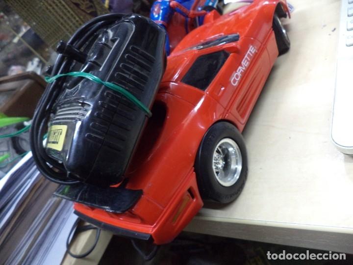 Coches a escala: Chevrolet Corvette teledirigido.New Bright 1990.Esc.1/15 aprox. - Foto 5 - 146492982