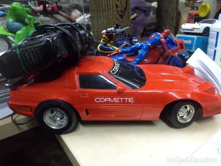 Coches a escala: Chevrolet Corvette teledirigido.New Bright 1990.Esc.1/15 aprox. - Foto 6 - 146492982