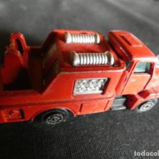 Coches a escala: GUISVAL 1/64 CAMION VOLVO BOMBEROS. Lote 146900330