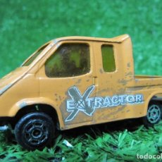 Coches a escala: FORD TRANSIT EXTRACTOR DE MAJORETTE. ESCALA 1/60 MADE IN FRANCE N243. Lote 147716358