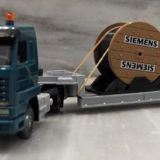 Coches a escala: CAMION TRAILER SIEMENS ARTICULADO - 1/87 - WIKING . Lote 147771706
