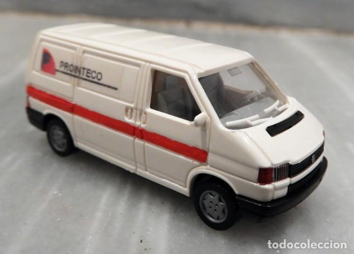 COCHE VW TRANSPORTER PROINTECO - FURGONETA - 1/87 - WIKING (Juguetes - Coches a Escala Otras Escalas )