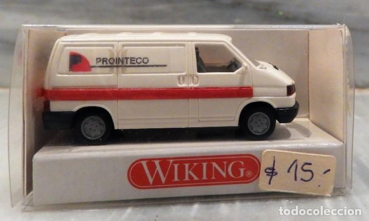 Coches a escala: COCHE VW TRANSPORTER PROINTECO - FURGONETA - 1/87 - WIKING - Foto 4 - 147774682