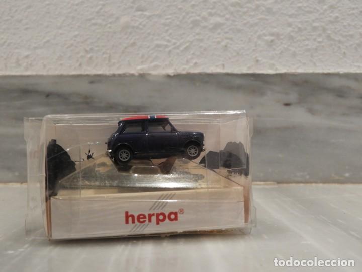 Coches a escala: COCHE MINI COOPER NORWEGEN - 1/87 - HERPA - Foto 3 - 147775138