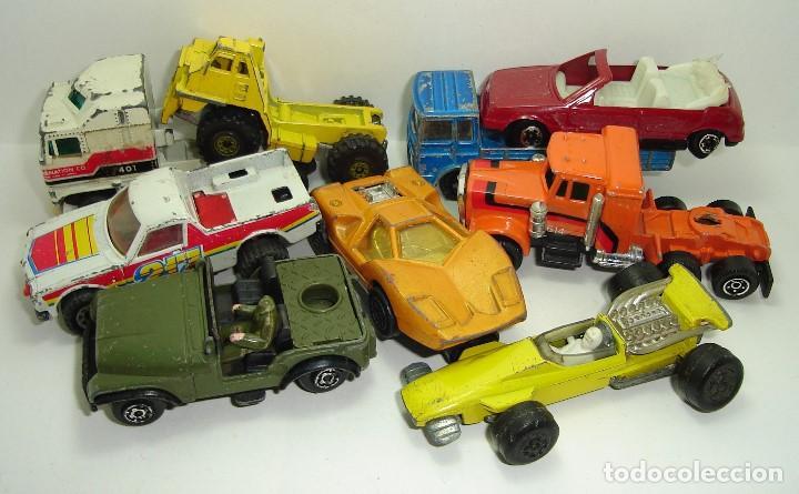 ANTIGUO LOTE DESGUACE DE COCHES MIRA GUISVAL MATCHBOX CORGI MAJORETTE HOT WHEELS (Spielzeug - Modellautos in anderen Maßstäben)