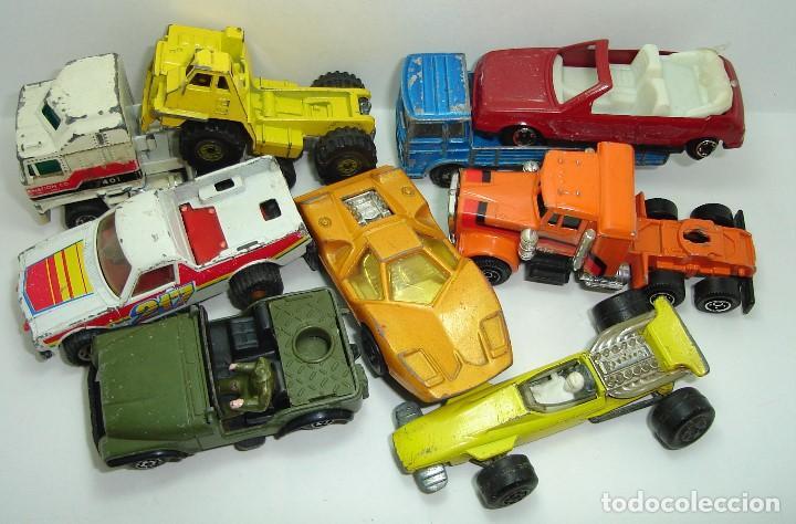 Modellautos: ANTIGUO LOTE DESGUACE DE COCHES MIRA GUISVAL MATCHBOX CORGI MAJORETTE HOT WHEELS - Foto 2 - 147777082