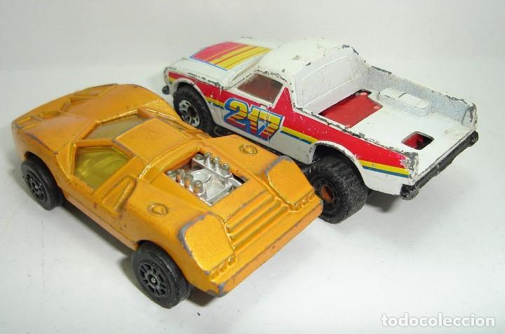 Modellautos: ANTIGUO LOTE DESGUACE DE COCHES MIRA GUISVAL MATCHBOX CORGI MAJORETTE HOT WHEELS - Foto 10 - 147777082