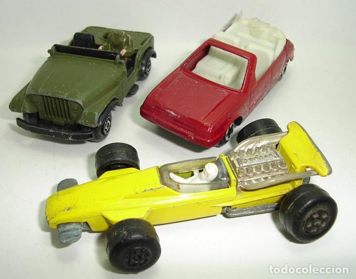 Modellautos: ANTIGUO LOTE DESGUACE DE COCHES MIRA GUISVAL MATCHBOX CORGI MAJORETTE HOT WHEELS - Foto 11 - 147777082