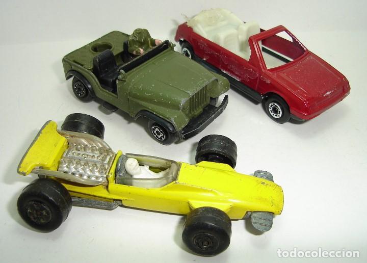 Modellautos: ANTIGUO LOTE DESGUACE DE COCHES MIRA GUISVAL MATCHBOX CORGI MAJORETTE HOT WHEELS - Foto 12 - 147777082