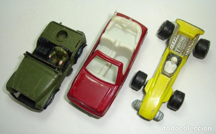 Modellautos: ANTIGUO LOTE DESGUACE DE COCHES MIRA GUISVAL MATCHBOX CORGI MAJORETTE HOT WHEELS - Foto 13 - 147777082