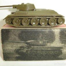 Coches a escala: ANTIGUO TANQUE MODELO T-34 EKO ESCALA HO. Lote 147893346