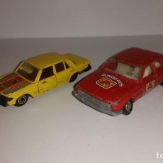 Coches a escala: LOTE 2 COCHES MIRA MERCEDES 450 Y FORD TAUNUS. Lote 148056562