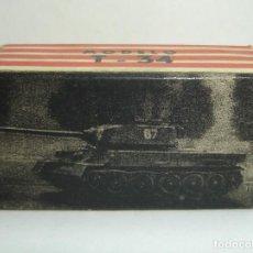 Coches a escala: ANTIGUA CAJA VACIA TANQUE MODELO T-34 EKO ESCALA HO. Lote 148165166