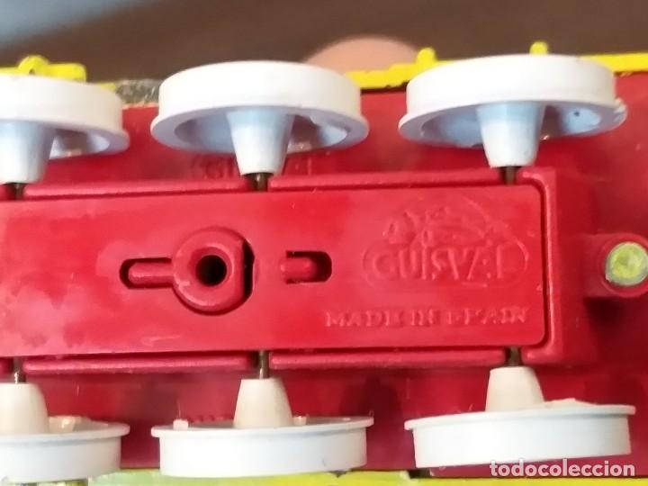 Coches a escala: coche guisval tren locomotora pitufos pitufo pvc peyo vintage años 80 - Foto 6 - 148814454