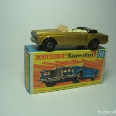 Coches a escala: ROLLS ROYCE SILVER SHADOW COUPE DE MATCHBOX SUPERFAST 1,64 Nº69. Lote 149896918