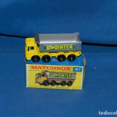 Modellautos - (M) MATCHBOX SERIES 51 8 WHEEL TIPPER CON CAJA, BUEN ESTADO - 150138794