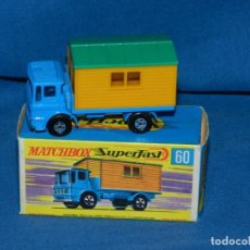 Coches a escala: (M) MATCHBOX SUPERFAST 60 OFFICE SITE TRUCK CON CAJA, BUEN ESTADO. Lote 150142994